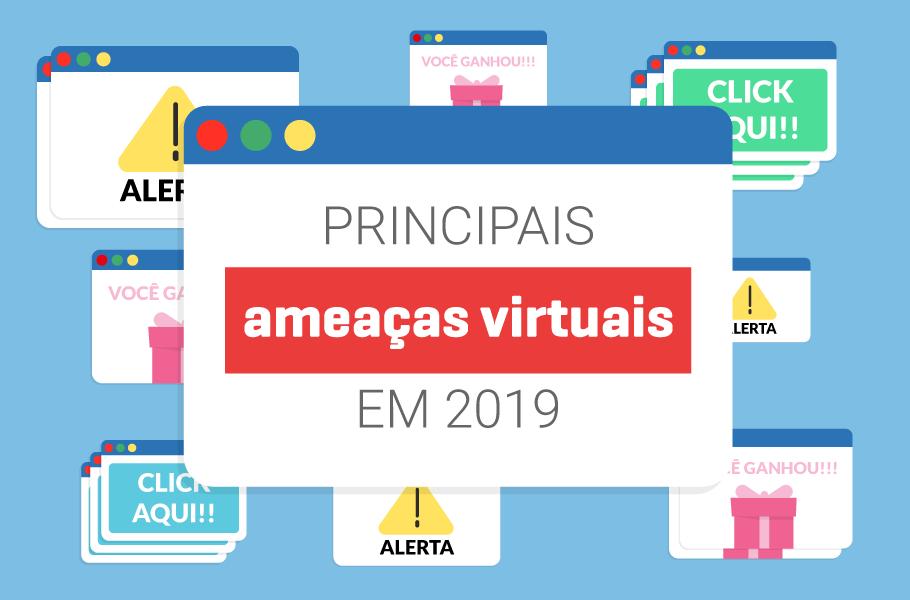 principais ameaças virtuais em 2018