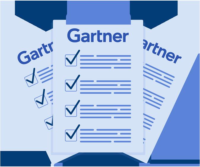 Requisitos do Gartner para Mail