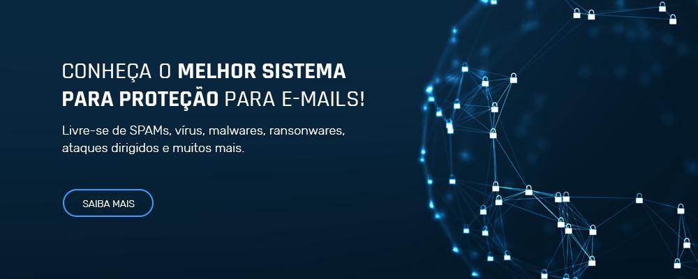 Malhor sistema de proteção para e-mails